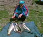 Lacul pentru pescuit sportiv Budeasa.