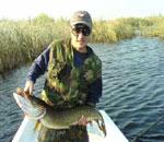 Lacul pentru pescuit sportiv Dunovat 1.