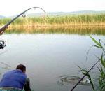 Lacul pentru pescuit sportiv Enisala.