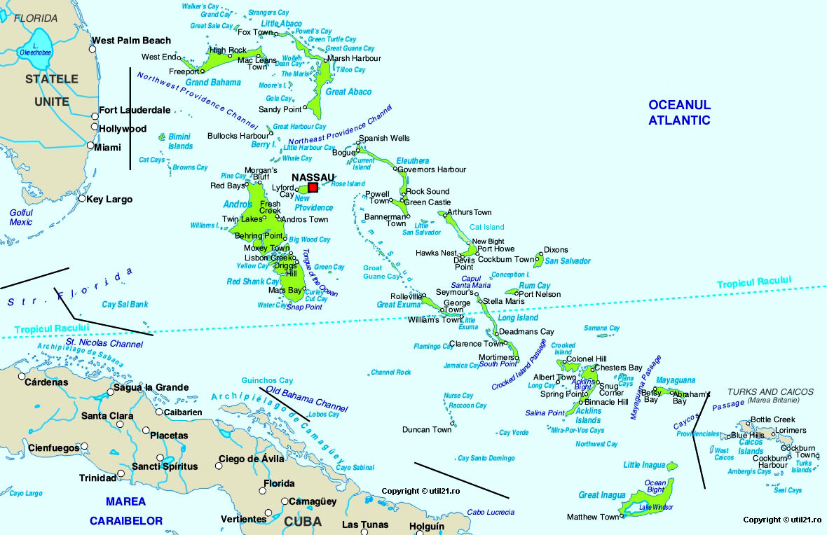 Map Of Bahamas Maps Worl Atlas Bahamas Map Online Maps Maps Of