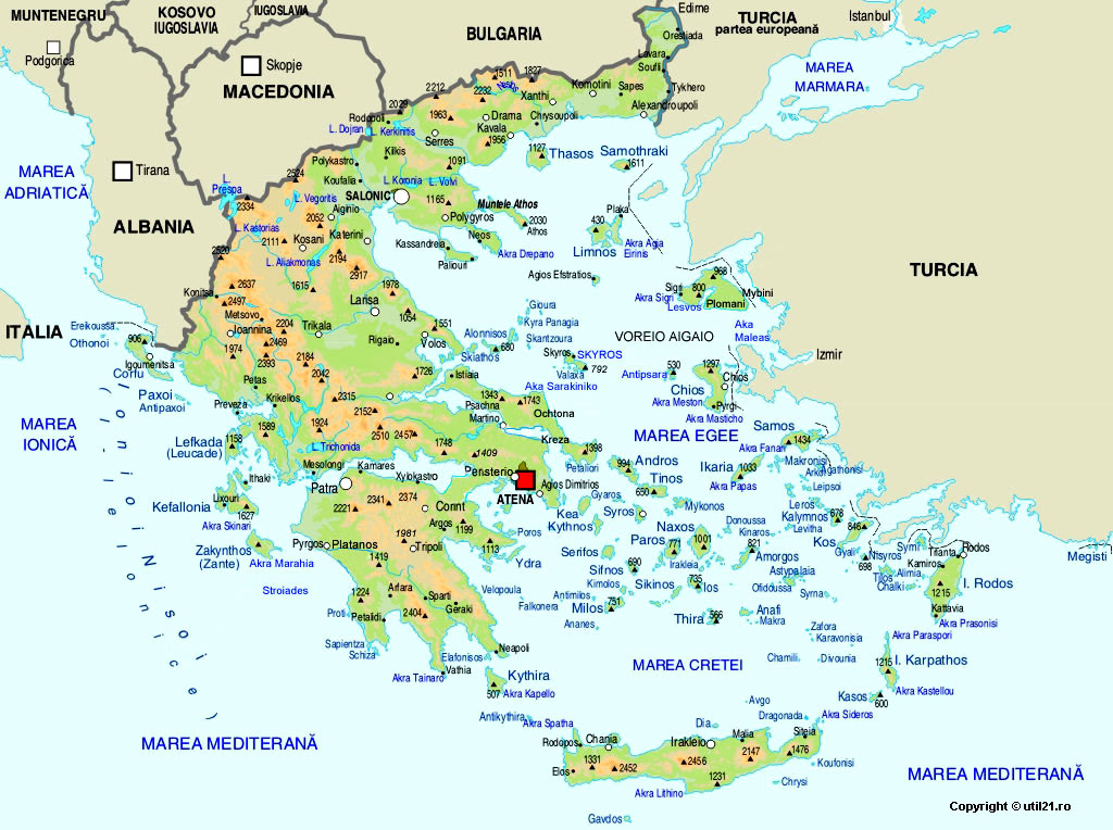 Map of greece maps worl atlas greece map online maps maps of map of greece maps of the world gumiabroncs Images