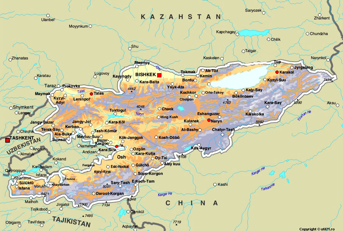 map of kyrgyzstan maps worl atlas kyrgyzstan map online maps maps of the world country maps