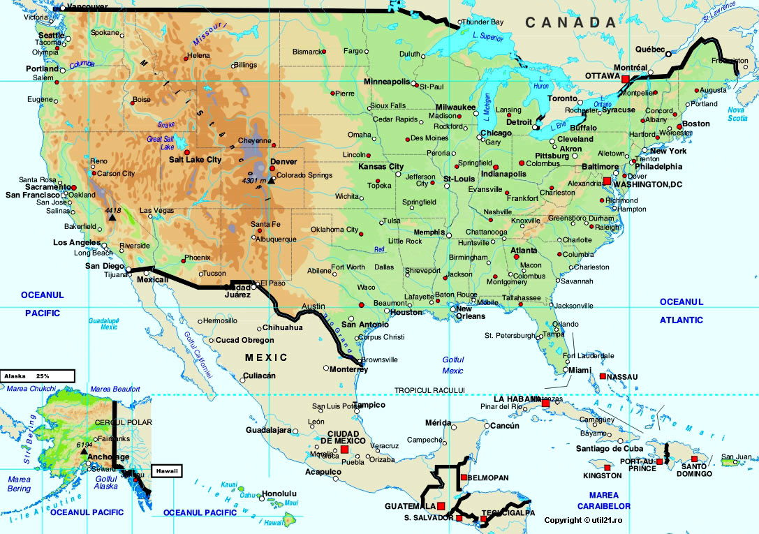 Of United States Maps Worl Atlas United States Map Online Maps - Us country map with states
