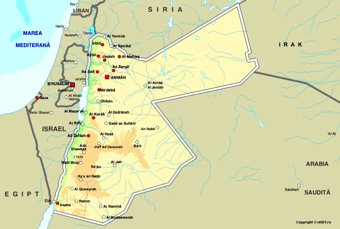 israel map with Harta Iordania Poza Mare on Hattin eng likewise Jesusmapj additionally Ruins Spectacular Jerash Jordan likewise Iraque as well Israel.