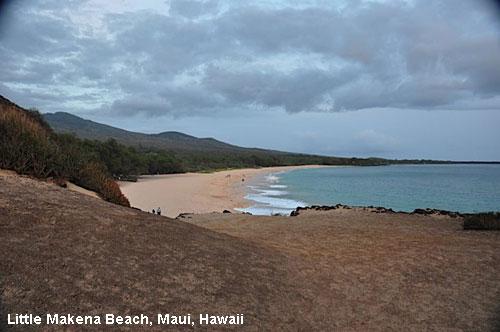Vacanta in Little Makena Beach Maui Hawaii vacante de vis